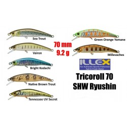 Illex Tricoroll Ryushin 70SHW