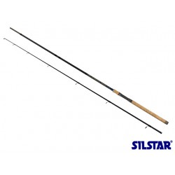Silstar Raider Superflex Salmon Spinning rod 3 Piece 11ft