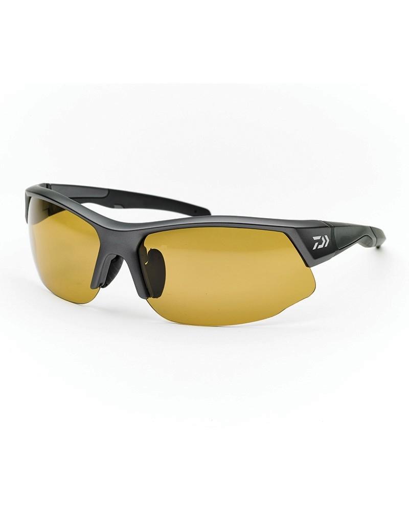 93562e8b7b Daiwa Polarised Sunglasses Yellow Lens Grey Frame