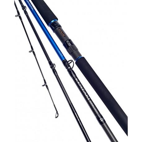 Daiwa Kenzaki Braid Special Boat rod 4 Piece Travel 20 30lb