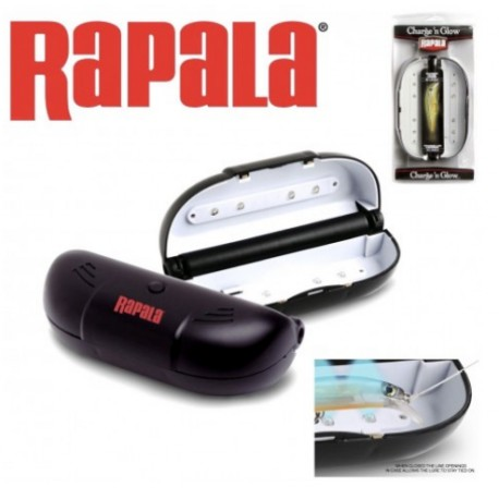 Rapala Charge'n Glow UV Lure Charger Case henrys