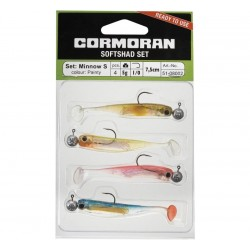 Cormoran Soft Shad Set 7cm S Painty 02