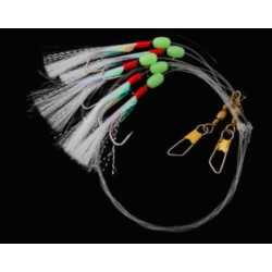 Gowen and Bradshaw Saltwater 5 Hook Flasher Rig 3/0