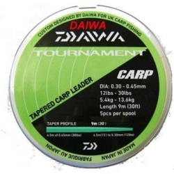 Daiwa Tournament Tapered Carp Shock Leader