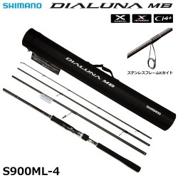 Shimano JDM  Dialuna S900ML MB Travel  Spin Rod