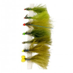 Snowbee Electric Damsels Fly Selection