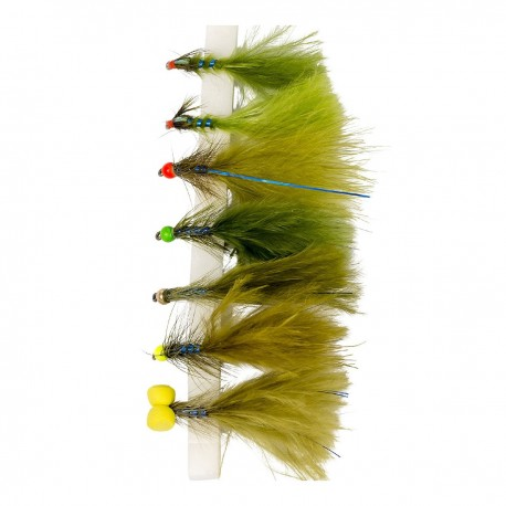 Snowbee Electric Damsels Fly Selection henrys