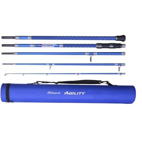 Shakespeare Agility 2 EXP 5 piece Travel Bass Surf Rod 11ft henrys