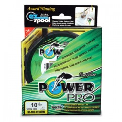 Power Pro Braid Hi-VIS Yellow 135m