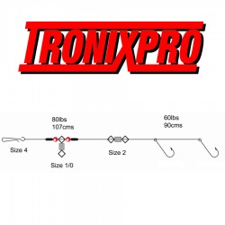 Tronix Pro Pulley Pennel Rig 2 Hook