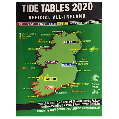 All Ireland Tide Tables 2020 henrys