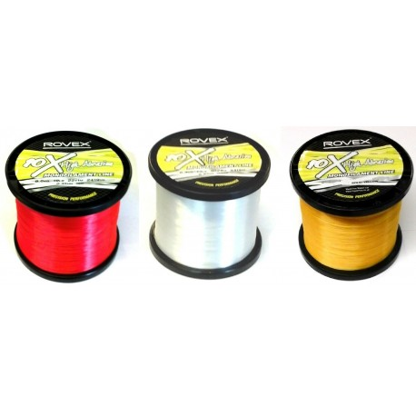 Rovex 10X Hi Abrasion Mono Nylon Line 1/4 Kilo Bulk Spool henrys