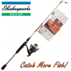 Shakespeare Catch More Fish 2 Combo 8ft Spin 20-60g