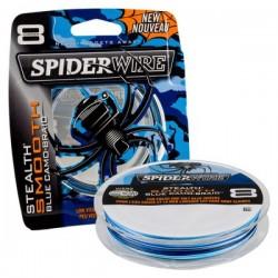 Spiderwire Stealth Smooth 8 Braid - Blue Camo