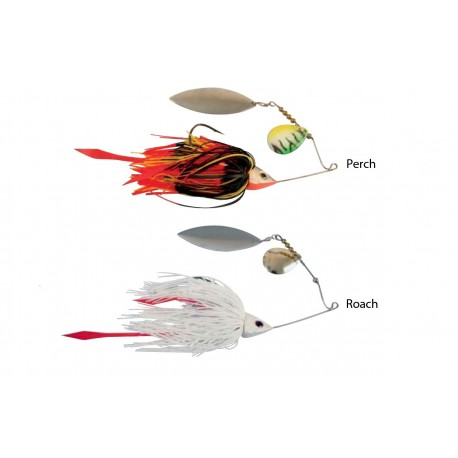 Savage Gear Ti-Flex Spinner Bait Black Widow Gunsmoke henrys