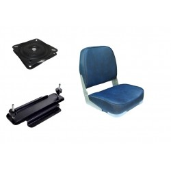 Boat Seat with New  Clamp and Swivel