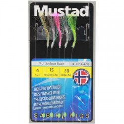 Mustad Multicolour Flash Rig