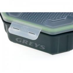 Greys Klip-Lok 2.4pt Flip Lid Maggot box henry