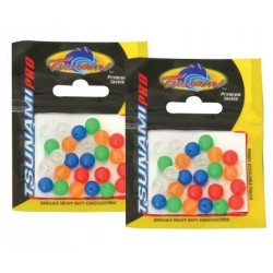 Tsunami Coloured Beads Assorted 8mm