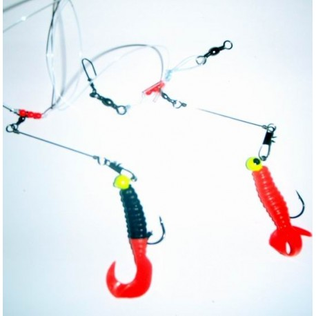Zebco Double Rotation Rig Three pack henrys