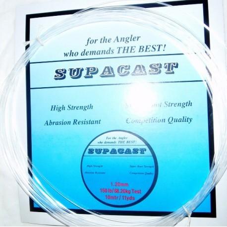 Supacast Heavy Nylon Trace 10m Hanks henrys