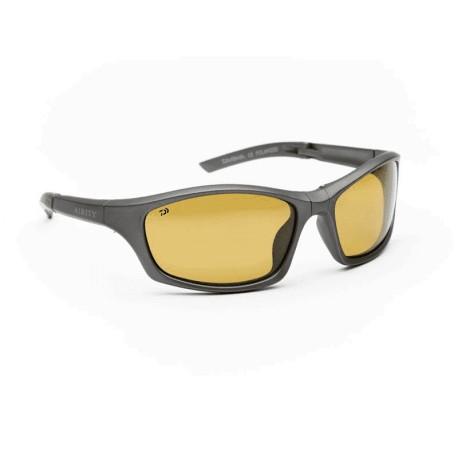 Daiwa G10 Polarised Sunglasses Yellow Lens Grey Frame henrys
