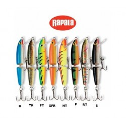 Rapala J7 Jointed Minnow Asstd Colors