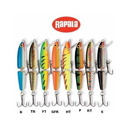 Rapala J9 Jointed Minnow Asstd Colors henrys