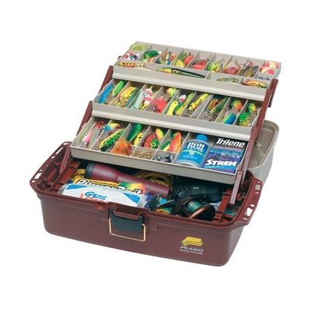 Plano 6133 XL 3 Tray Cantilever Tackle Box henrys