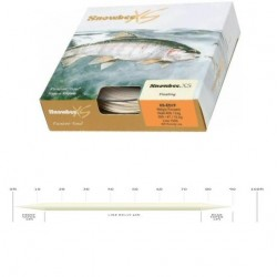 Snowbee XS Fly Line WF4 Floating Ivory