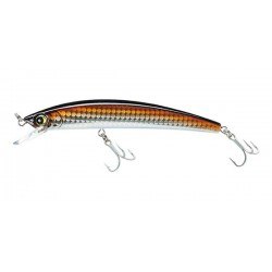 Yozuri Crystal Minnow 130mm 18g Floating Bronze Shiner
