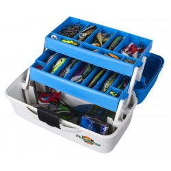 Flambeau 6382TB 2 Tray Cantilever Tackle Box