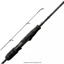 Black Savage Dropshot Rods