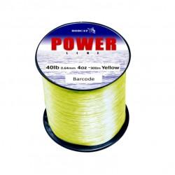 Bobcat Mono Line 1/4lb Bulk Spools Yellow