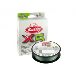 Berkley X5 Braided Line 300m Dark Green