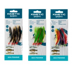 Kinetic Sabiki Rooster Tail Mackerel Feather