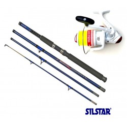 Silstar Special 9ft Travel Pier Combo