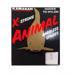 Kamasan X-Strong Animal Hooks To Nylon Barbed Spade