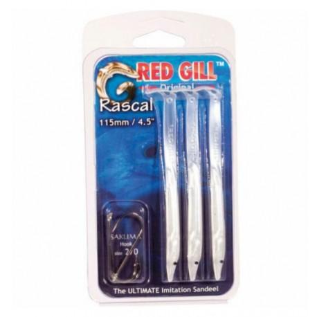 Red Gill 115mm White 3 Pack henrys