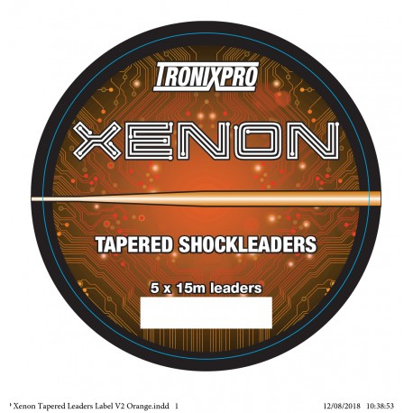 Tronix Pro Xenon Tapered Shock Leaders henrys