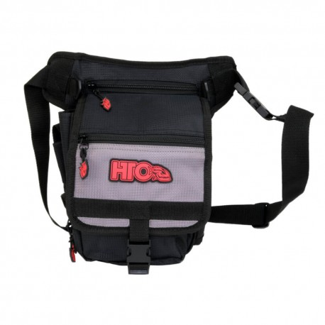 Tronix Hip Bag Black Grey henrys