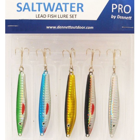 Dennet Saltwater Pro Sea Spinner Set 5 Piece henrys