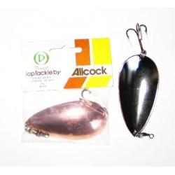Allcock 2.5 inch Extra Heavy Copper & Silver Spoon