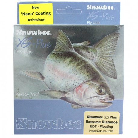 Snowbee XS Plus Extreme Distance Fly Line Floating henrys
