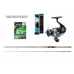 Shimano Catana 9ft Spin Combos With Braid