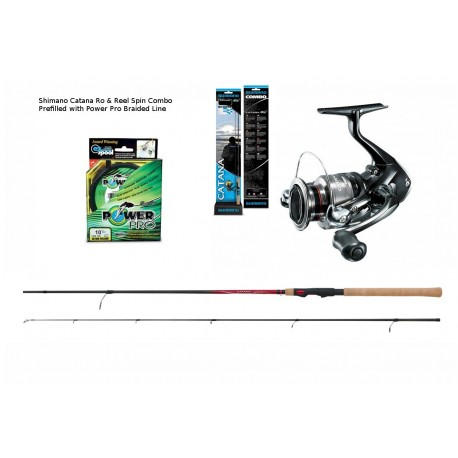Shimano Catana 9ft Spin Combos With Braid henrys