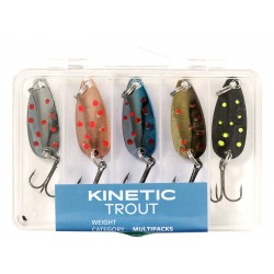 Kinetic Trout Spoon Kit 5pcs