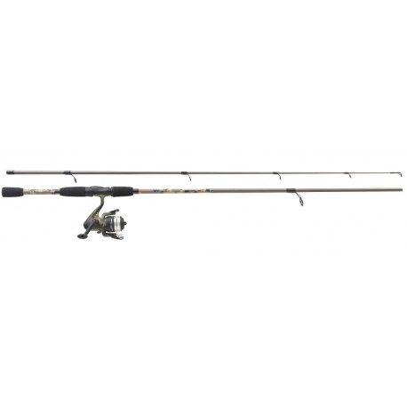 Mitchell Tanager Camo Spin Rod Reel Combos henrys