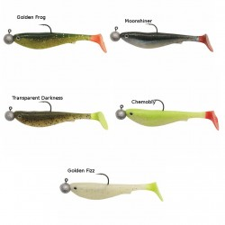 Kinetic Playboy Soft Lure with Jig Head