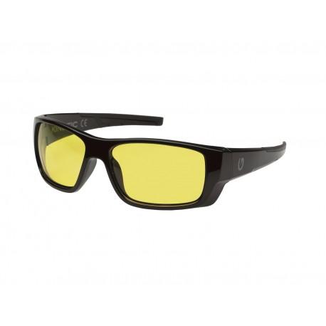 Kinetic Baja Snook Sunglasses Black Yellow henrys